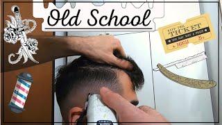 Sfumatura capelli OLD SCHOOL - FPV Barber - Video in prima persona.
