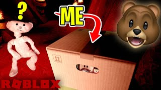 I Wore A Cardboard Box To Hide From Roblox Bear Minecraftvideos Tv
