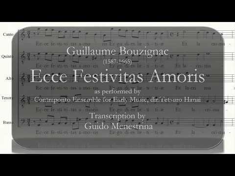 Guillaume Bouzignac (1587-1665) - Ecce festivitas amoris