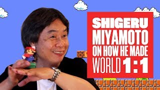 Miyamoto on World 1-1: How Nintendo made Mario's most iconic level