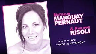 Interview Filmée De NATHALIE MARQUAY-PERNAUT Et PHILIPPE RISOLI Pour Le Mensuel En 2013