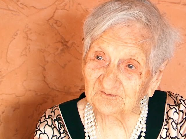 Ангарчанка отметила 107 день рожденья