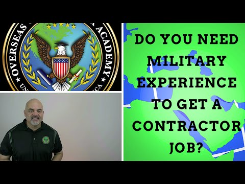 , title : 'Do you need military experience to get defense contractor jobs?