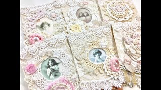 Live, DIY Christmas Ornaments & Decor/Shabby Chic Banner