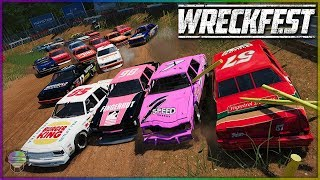 AWESOME ROAD COURSE CARNAGE!   Wreckfest