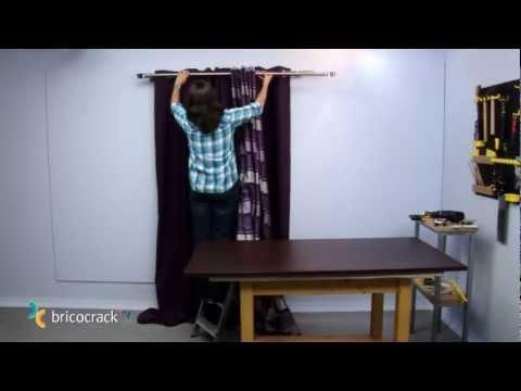 Colgar cortinas (Bricocrack)