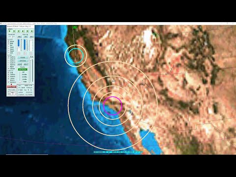 Seismic Data of a 4.6 Earthquake in South El Monte, CA