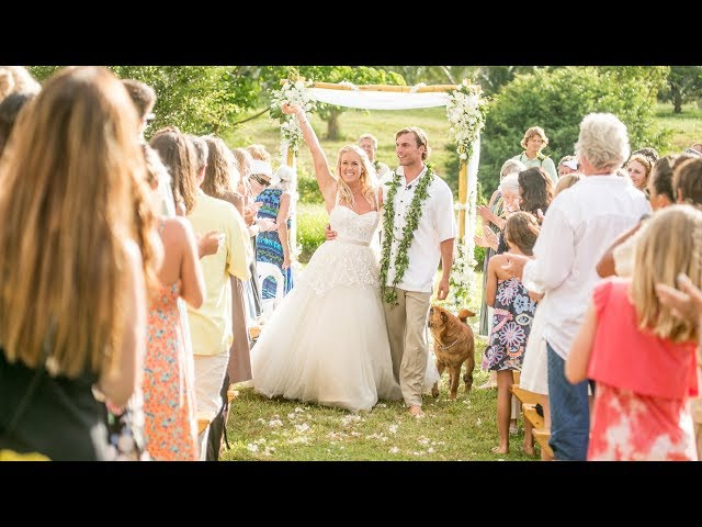 Soul Surfer Bethany Hamilton's Wedding Video