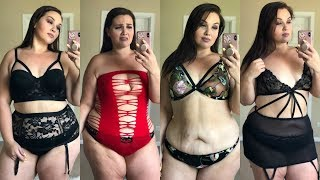 Lingerie Try On Haul For Dat Azz