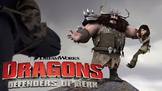 Dragons: Riders Of Berk   Can Hiccup Save Astrid And Heathers Parents From Alvin?   Universal Kids
