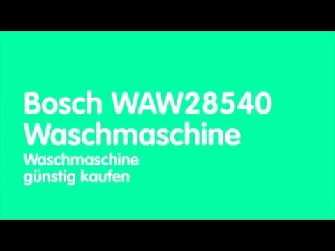 Bosch WAW28540 Waschmaschine