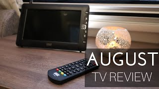 August 9 inch TV review