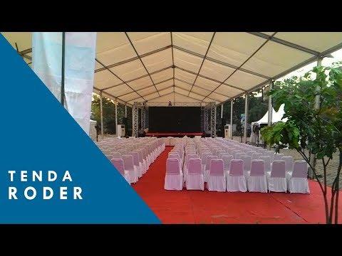 Tenda Roder Untuk Pernikahan, Acara Perusahaan dan Exhibitions
