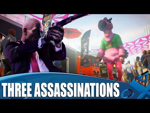 Hitman 2 New Gameplay! Three Assassinations With Developer Hints!