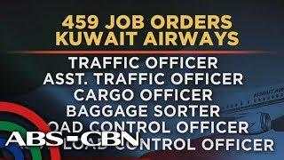 TV Patrol: Mga aplikante ng Kuwait Airways, dumagsa