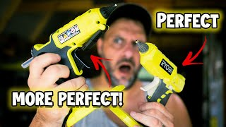 Ryobi just made the perfect tool EVEN MORE PERFECT! This is the all new Ryobi 18v Cordless Glue Gun