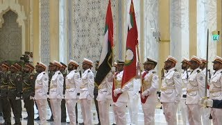 Chinese President Xi meets with UAE rulers in Abu Dhabi
