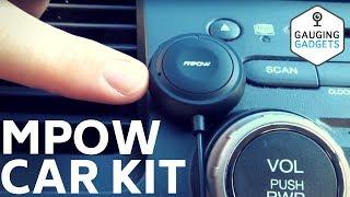 Mpow Bluetooth Car Kit Review - MBR2 Handsfree Kit