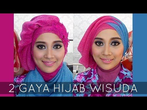 Video Tutorial Hijab Wisuda | 2 Hijabstyle dengan Hijab Savanna Mecca Glitty | #2