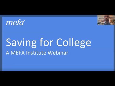 The MEFA Institute: Saving for College