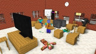 MONSTER SCHOOL REACTING TO FANS VIDEO PART 2 - Minecraft Animation