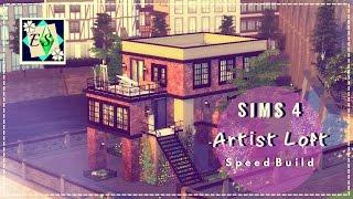 Sims 4 Speed Build - Artist Loft/Studio