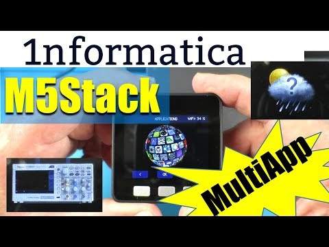 M5Stack MultiApp Advanced Firmware Installation Tutorial Guide
