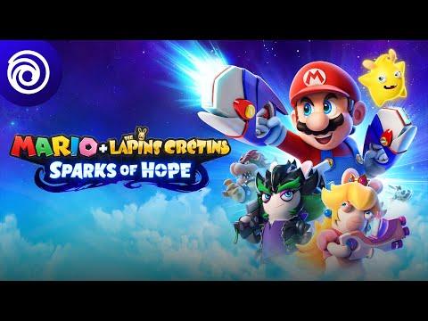 Trailer CGI de Mario + The Lapins Crétins: Sparks of Hope