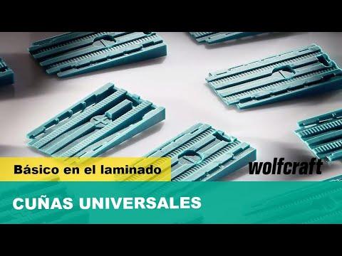 30 cuñas separadoras universales 6946000 Wolfcraft