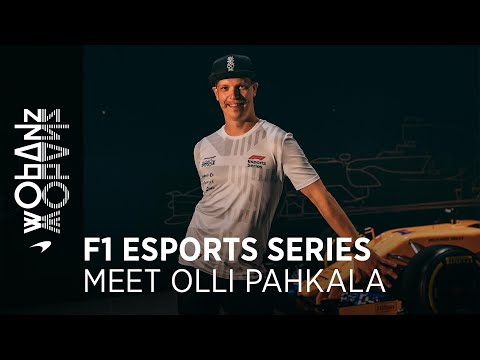 F1 Esports Series | Getting to know Olli Pahkala