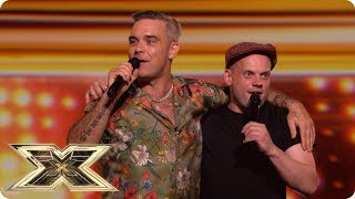 Andy's loving Robbie instead | Auditions Week 1 | The X Factor UK 2018