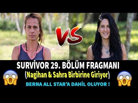 Survivor 29.bölüm Fragman ( Nagihan Sahra Birbirine Giriyor)