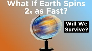 Download Youtube: What If Earth Started Spinning Twice as Fast Right Now?