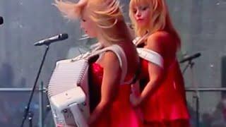 """ACCORDION GIRLS BAND """"LiubAnya""""LA- POP CORN /Аккордеонистки - дуэт """"ЛюбАня"""" [COVER]"""