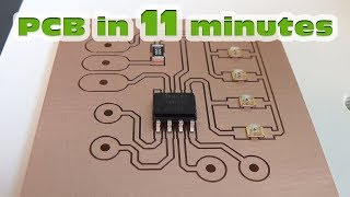 Download Video PCB making, PCB prototyping quickly and easy - STEP by STEP MP3 3GP MP4