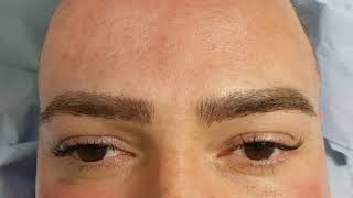 Healed Male Microblading 3D after 1 session over old pmu Correction by El Truchan @ Perfect Definiti