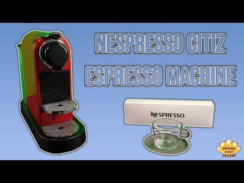 , Nespresso CitiZ Espresso Machine by De'Longhi, Black review