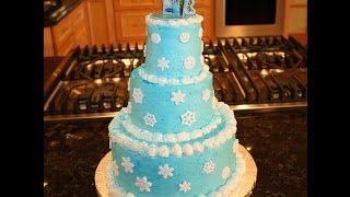 Disney Frozen Cake Decoration - Part 2