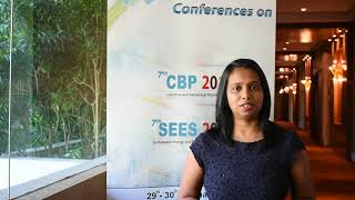 Paulene Govender at SEES Conference 2018 by GSTF Singapore