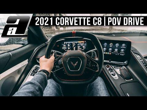2021 Corvette C8 Stingray (507PS, 640Nm, V8) | POV Autobahn
