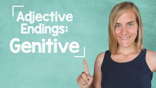 German Lesson (138) - Adjective Endings - Genitive - Definite And Indefinite Articles - A2