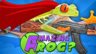 AMAZING FROG Gameplay Part 1 - Like Goat Simulator, But Frogs!