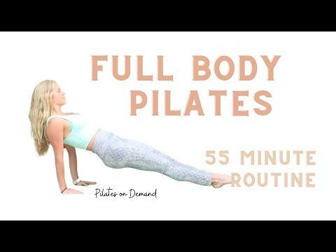 My 55 minute full body pilates workout. No equipment needed!