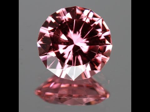 Precision Cut Round Brilliant Tourmaline 1.58 Carats