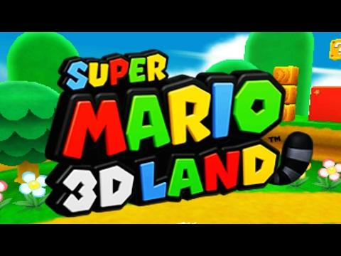 Super Mario 3D Land - Full Game Walkthrough (100%)