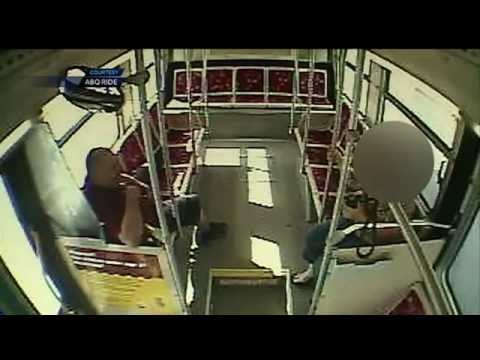 Albuquerque city bus driver caught in sex act on the job (SURVEILLANCE VIDEO)