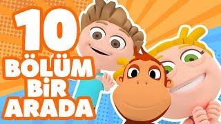 Kukuli – Eğlenceli Çizgi Filmler & Eğitici Çocuk Şarkıları | 10 Bölüm Bir Arada | 45 DAKİKA