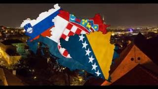 """the north Adriatic {Bosnia, Croatia , Slovenia } """"suggestion by Cube mapping """""""