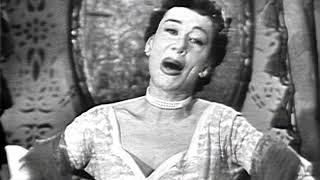 Patrice Munsel, soprano - J. Strauss II - Die Fledermaus - 'Adele's Laughing Song' (video - 1951)