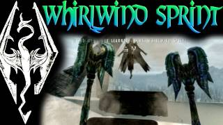 Skyrim: Dragon Shouts - Whirlwind Sprint